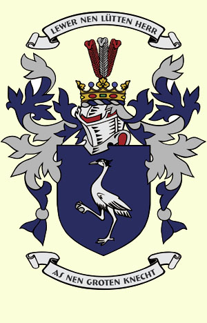Krohn family coat of arms